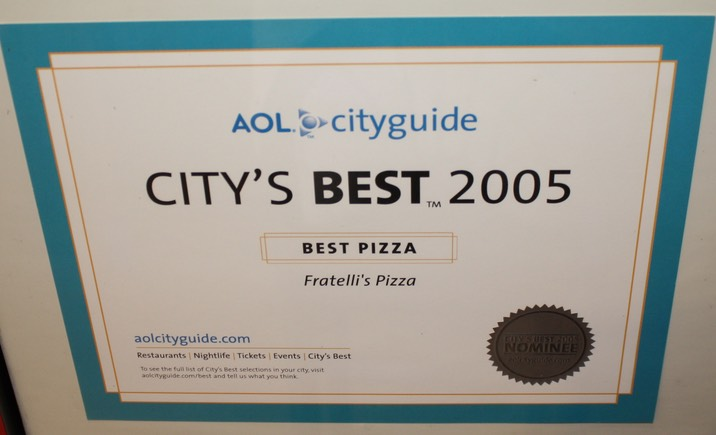 Best Pizza 2005